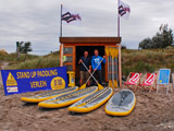 SUP-Verleih am Südstrand